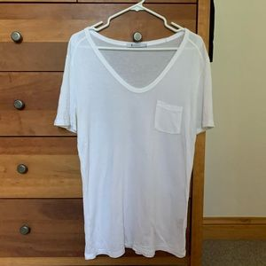 Alexander Wang white T-shirt